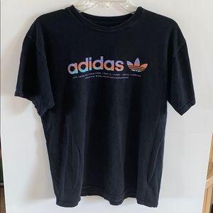 Men's Adidas Black T-Shirt